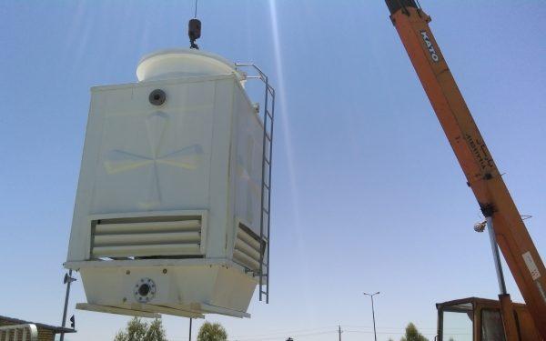 برج های خنک کننده 80 تن مکعبی شرکت ایزوگام سازی